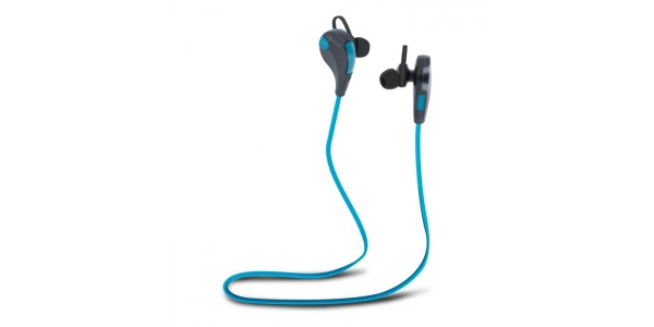 Auriculares Bluetooth BSH-100 Azul-Negro . Forever