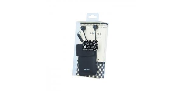 Auriculares de botón Forever SE-210. Negro