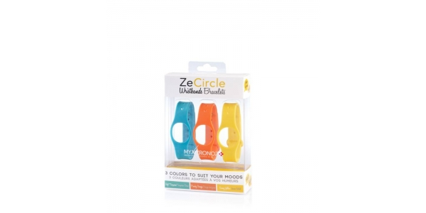 Recambio Pulsera MyKronoz ZeCircle. 3 colores incluidos