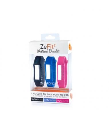 Recambio Pulsera MyKronoz ZeFit2. 3 colores incluidos