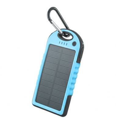 Power Bank Solar 5000 mAh. Forever. Azul