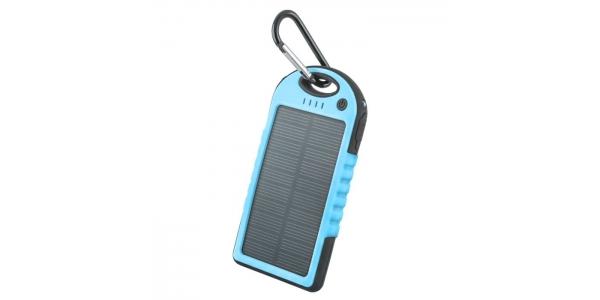 Power Bank Solar 5000 mAh. Forever. Azul