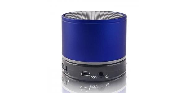 Altavoz Portátil Bluetooth. Microfono integrado. BS-100 Forever. Azul