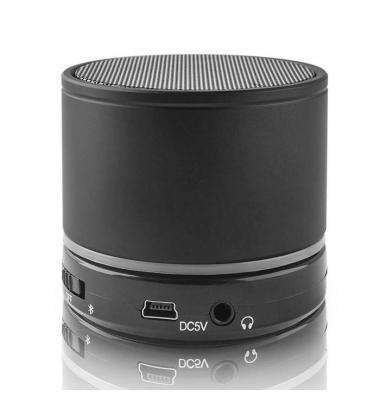Altavoz Portátil Bluetooth. Micrófono integrado. BS-100 Forever. Negro