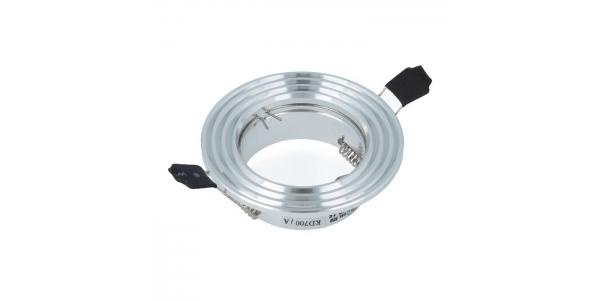 Foco empotrable Aluminio Redondo. Para Bombillas LED GU10 y MR16