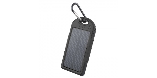 Power Bank Solar 5000 mAh. Forever. Negro