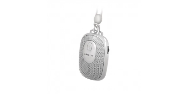 Altavoz Portátil Bluetooth - Inalámbrico. BS-110 Forever. Blanco