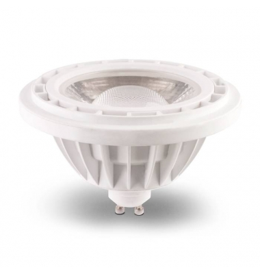 Bombilla LED AR111 10W. 220V. Blanco Natural. Ángulo 45º. 850 Lm. Base GU10