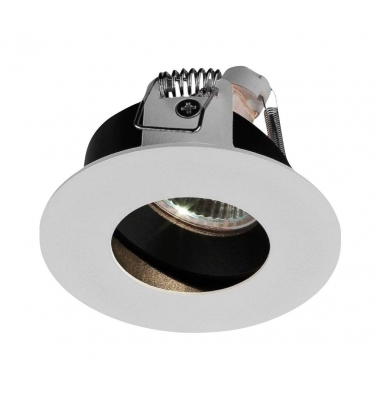 Foco Empotrable Combi. Blanco Mate. Para Bombillas LED GU10 y MR16