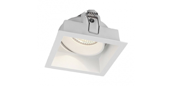 Foco Empotrable Direccionable Cove. Blanco Mate. Para Bombillas LED GU10 y MR16