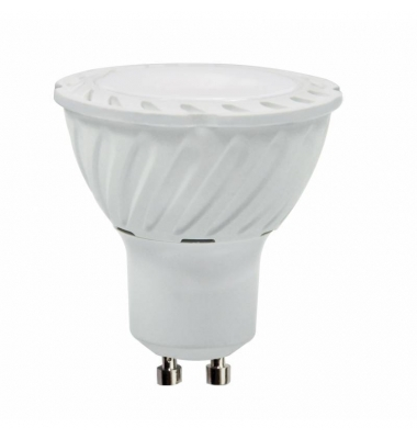 Bombilla LED GU10 3.5W. Blanco Natural. Ángulo 38º