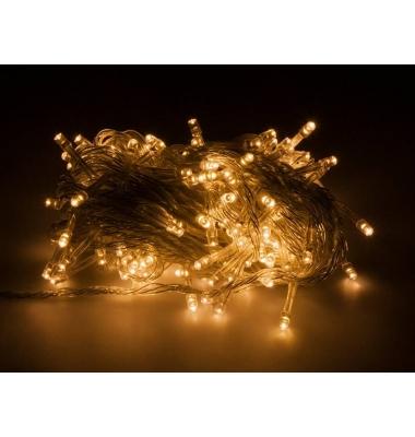 Guirnalda luminosa 9,4 m luz cálida. 200 LEDs. Con mando distancia