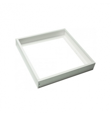 Marco Superficie Panel LED 60 x 60. Acabado Blanco