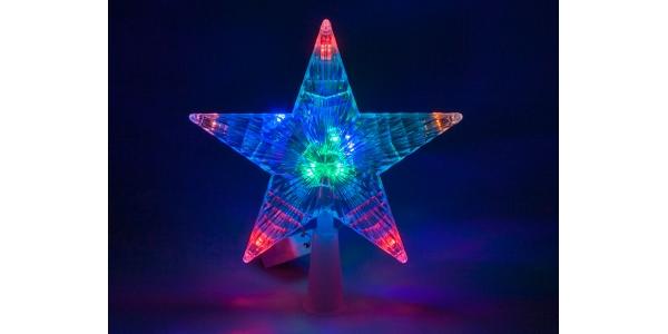 Estrella Luz Navidad. RGB