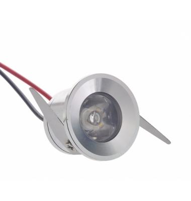 Foco Empotrar Redondo LED Interior 1W. Lower