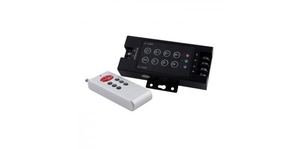Controlador RGB Profesional 144W RF8.