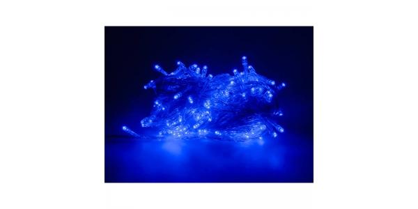 Guirnalda Luminosa 9,4 m. Luz Azul. 200 LEDs. Con mando distancia