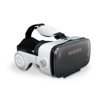 Gafas 3D de realidad virtual. VRB-200. Con auriculares.