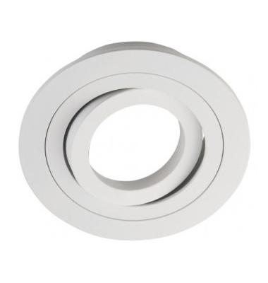 Foco empotrable Aluminio Redondo Full