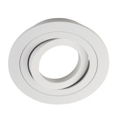 Foco empotrable Aluminio Redondo