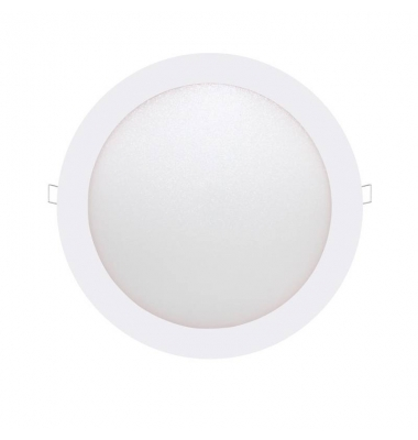 Downlight LED panel Blanco 12W - 740Lm Bid. Blanco Cálido Ángulo 160º