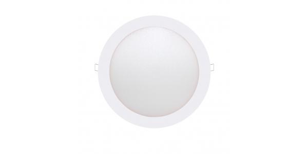 Downlight LED panel Blanco 12W - 740Lm Bid. Blanco Cálido Ángulo 160º