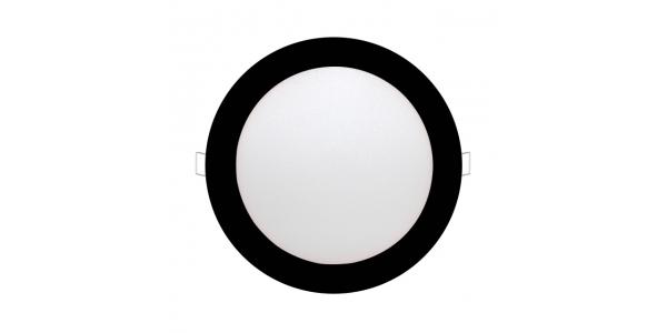 Downlight Panel LED Negro Interior 12W Bid