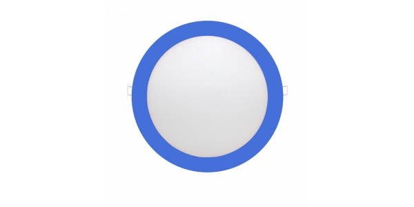 Downlight Panel LED Azul Interior 25W Bid
