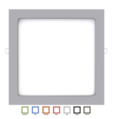 Downlight Panel LED Multicolor Interior 25W Square