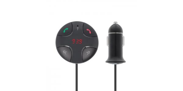 Transmisor TR-310 Bluetooth FM. Manos libres. Reproductor Mp3