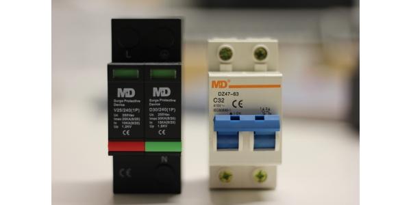 Kit MD Protector Comercios. Monofásico de sobretensiones.