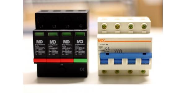 Kit MD Protector Industria. Trifásico de sobretensiones.