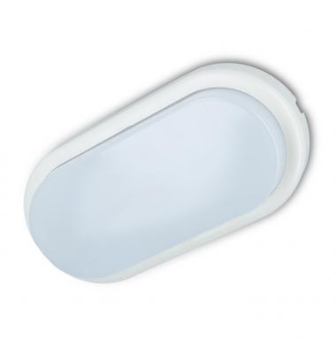 Plafon Oval LED 10W Exterior IP44. Luz Natural