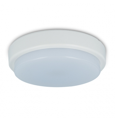 Plafon Redondo LED 15W Exterior IP44. Luz Natural