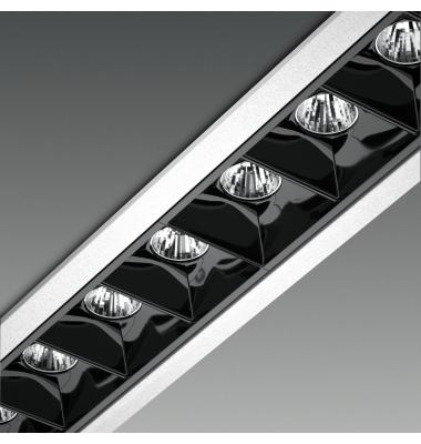 Foco Empotrable LED Inline 10W. Mini Kardan Citizen. Blanco Cálido. Ángulo 30º