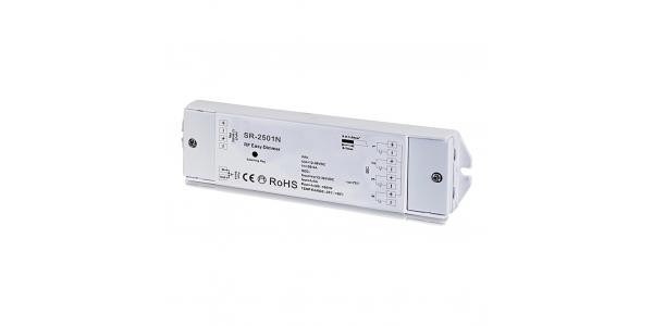 Receptor MonoColor, Dual, RGB y RGBW. Modelos SR