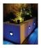 Baliza LED Empotrar Redonda Pared. 1.4W Interior-Exterior. Carpio