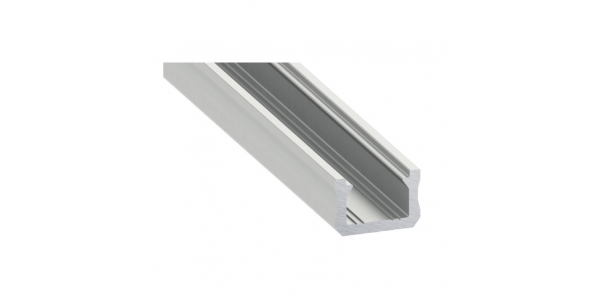Perfil Aluminio para Tiras LED Superficie Lia. 1 Metro