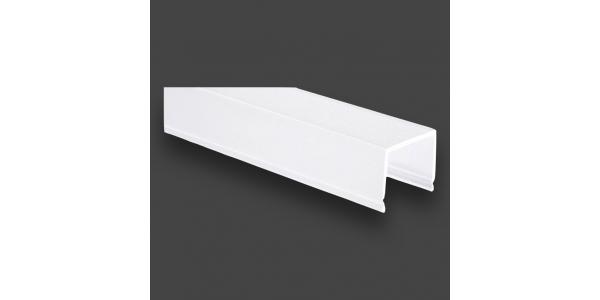 Difusor Opal Tiras LED Max.20,2mm. Perfil Prop. 1 Metro