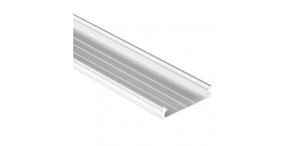 Perfil Aluminio de 2.02 metros, SUEKE, Superficie. Tiras LED máximo 30mm