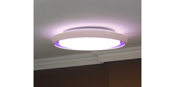 Plafón Superficie LED 20W Rosa y Azul. Galaxy