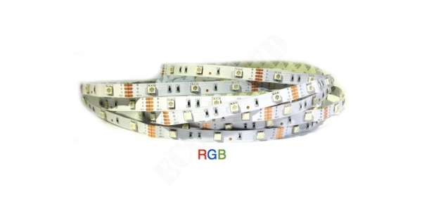 Tira LED 7.2W/m RGB Flexible 5m (30 LEDs/m) Interior IP20