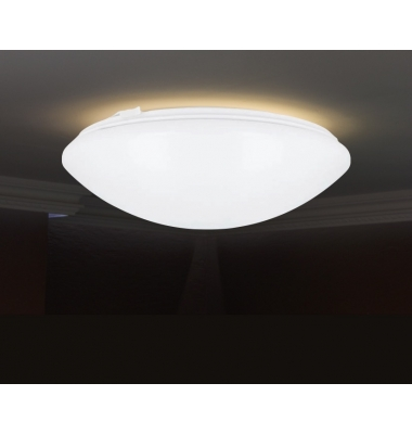 Plafón LED 18W de superficie. Con sensor de movimiento. Blanco Natural