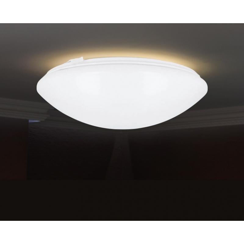 Plaf n led 18w de superficie con sensor de movimiento for Plafon pared led con sensor pir