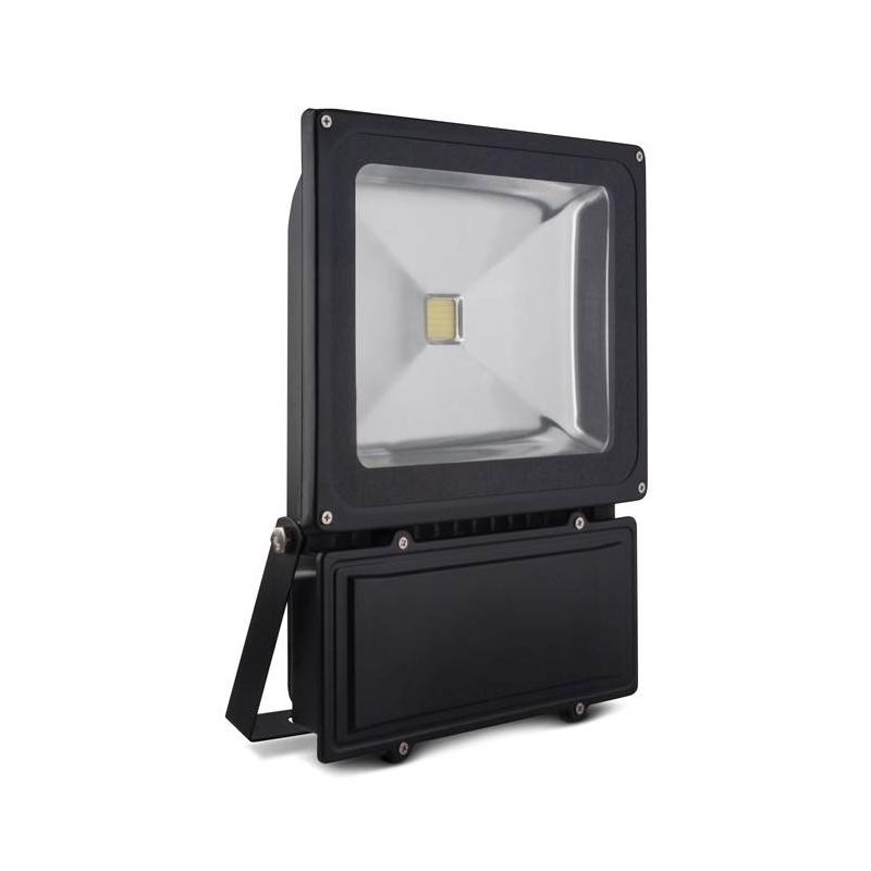 Foco led exterior proyector 70w luz fr a negro - Luz led exterior ...