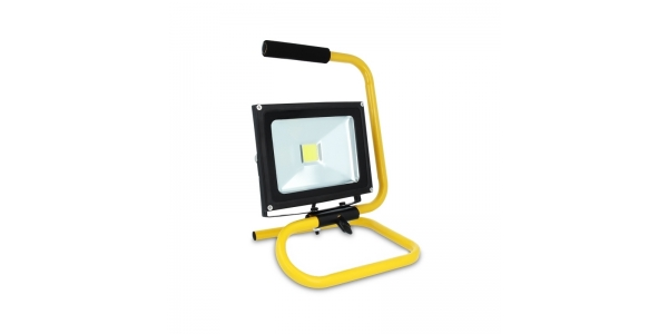 Proyector LED Exterior con soporte 20W Ninbo. Luz Fría