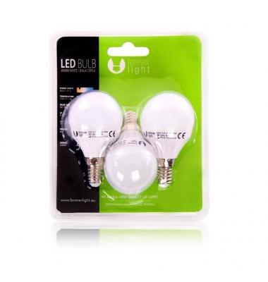 Bombilla LED E14 Vela 7W. Ángulo 180º