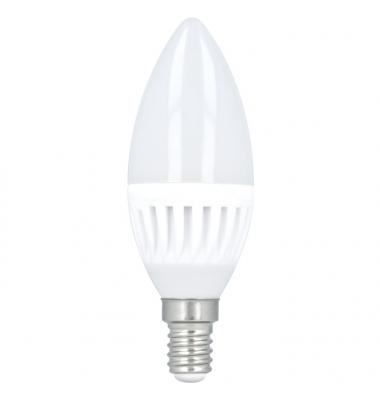 Bombilla LED E14 C35 Vela 10W. Ángulo 180º