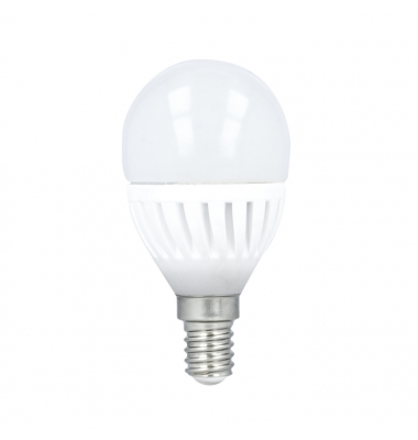 Bombilla E14 Esférica LED 10W. Ángulo 180º 3000K