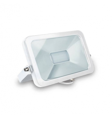 Proyector LED Exterior 10W Flood. Luz Fría. Blanco